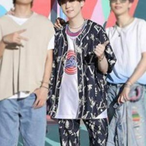 Suga-Floral-BTS-Dynamite-Blue-Cotton-Suit