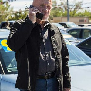 Black Jacket worn by Jonathan Banks in TV Series Better Call Saul