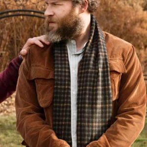 Seth Rogen Brown Corduroy An American Pickle Netflix Movie Jacket
