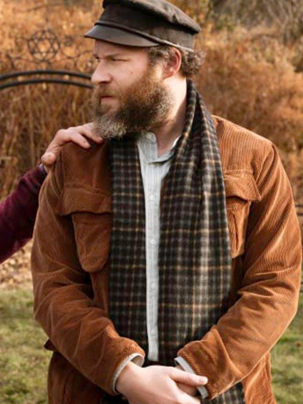 Seth Rogen Brown Corduroy An American Pickle Netflix Movie Jacket