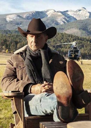 Kevin Costner TV Series Yellowstone Corduroy Sherpa Jacket