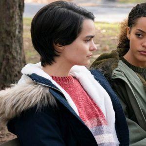 Brianna Hildebrand TV Series Trinkets Fur Hooded Elodie Davis Parka