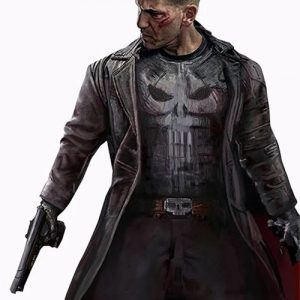 Frank-Castle-The-Punisher-Jon-Bernthal-Black-Leather-Trench-Coat