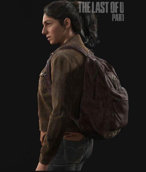 The Last Of Us Part II Video Game Brown Corduroy Dina Jacket