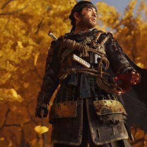 Jin Sakai Video Game Ghost of Tsushima Leather Jacket