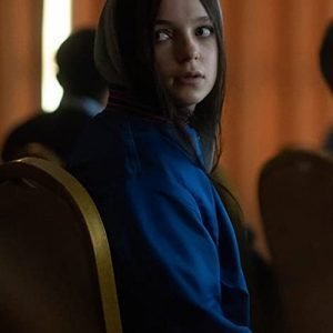 Esme Creed-Miles Tv Series Hanna S02 Blue Bomber Jacket