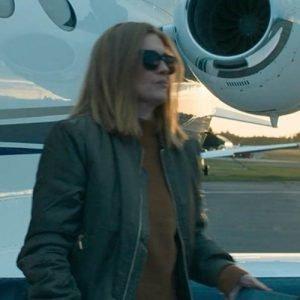 Bomber Jacket Worn by Marissa Wiegler in Tv Series Hanna SO2