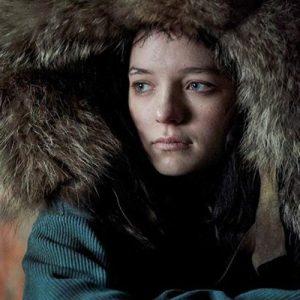 Fur Hooded Coat worn by Esme Creed-Miles in TV Series Hanna