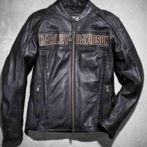 Harley-Davidson-Men-Motorcycle-Leather-Jacket