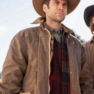 Jamie Dutton Tv Series Yellowstone Brown Cotton Jacket