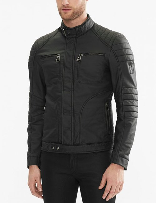 John Barrowman Arrow Malcolm Merlyn Leather Jacket