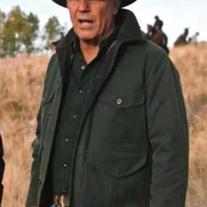 Kevin Costner Yellowstone Season 2 John Dutton Jacket