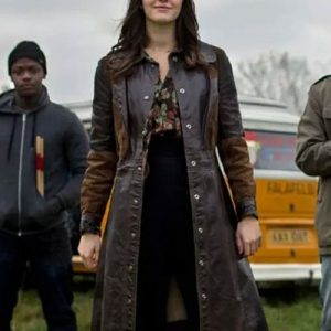Kat-And-The-Band-Ella-Hunt-Leather-Brown-Trench-Coat