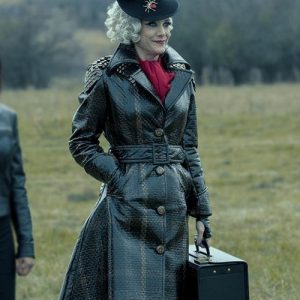 Kate Walsh The Umbrella Academy S02 The Handler Trench Coat