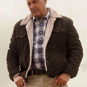 George Blackledge Let Him Go Kevin Costner Shearling Jacket