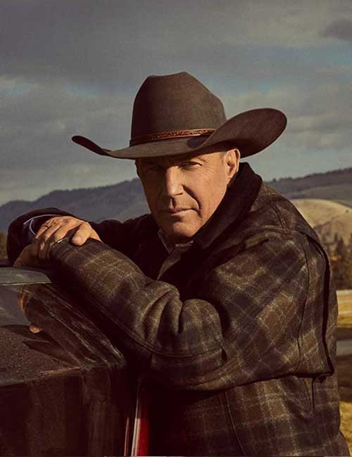 John Dutton Yellowstone S02 Plaid Kevin Costner Jacket
