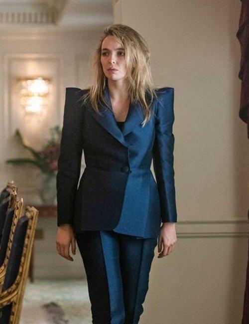 Villanelle-Killing-Eve-S03-Jodie-Comer-Blue-Blazer