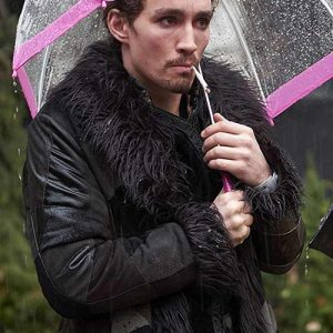 Klaus Hargreeves The Umbrella Academy Shearling Coat