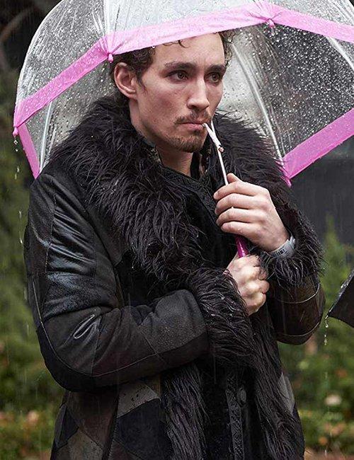Klaus Hargreeves The Umbrella Academy Shearling Coat