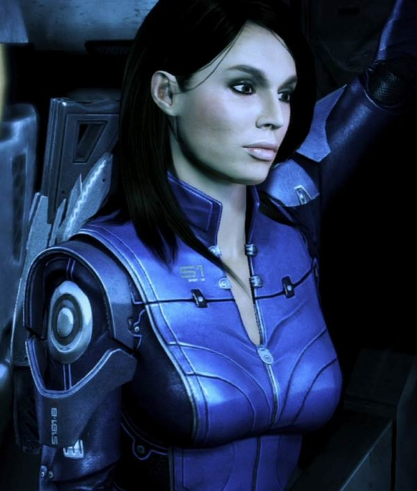 Mass Effect 3 Video Game Ashley Williams Leather Jacket