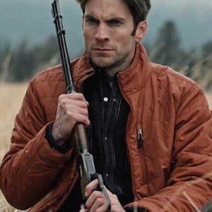 Wes Bentley Yellowstone Jamie Dutton Parachute Jacket