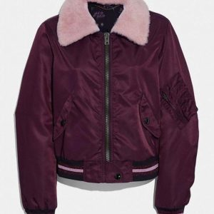 Riverdale S04 Betty Cooper (Lili Reinhart ) Bomber Jacket