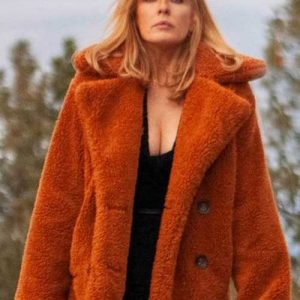 Fur Shearling Coat worn by Beth Dutton in Yellowstone Series
