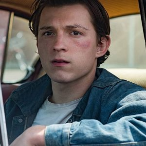 The Devil All The Time Arvin Russell (Tom Holland) Denim Jacket