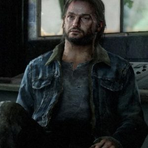 The Last Of Us Part II Tommy Denim Blue Color Jacket