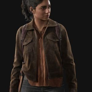 Video Game The Last Of Us Part II Brown Corduroy Dina Jacket