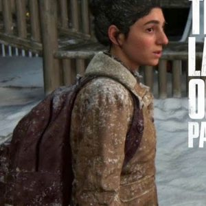 Dina The Last Of Us Part II Brown Shearling Leather Jacket
