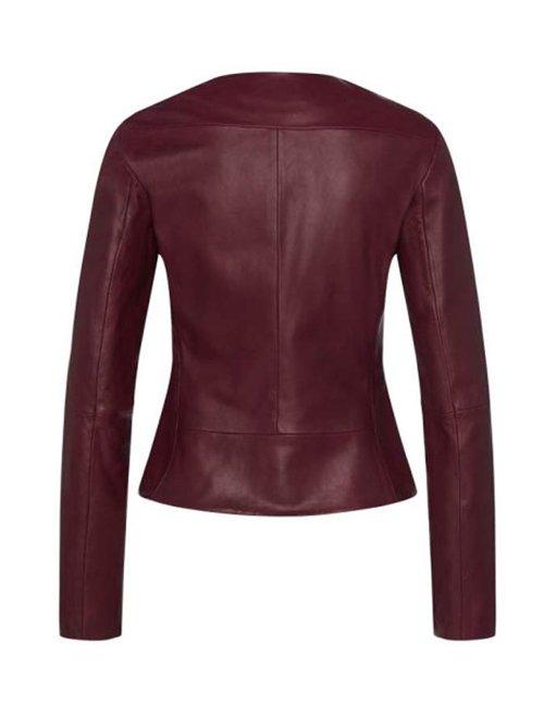 Issa-Rae-The-Lovebirds-Moto-Leather-Jacket