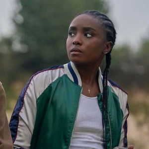 Nile Freeman The Old Guard Kiki Layne Bomber Jacket