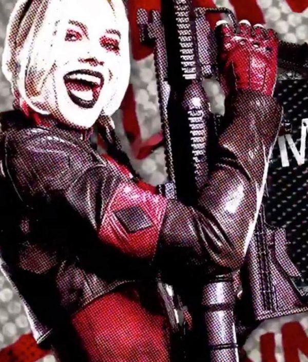 Margot Robbie New Suicide Squad Jacket