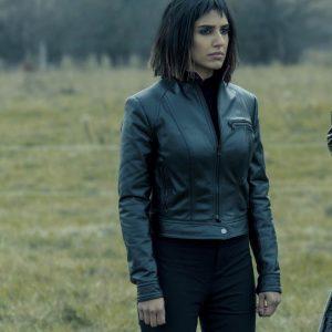 The Umbrella Academy S02 Lila Pitts Leather Jacket