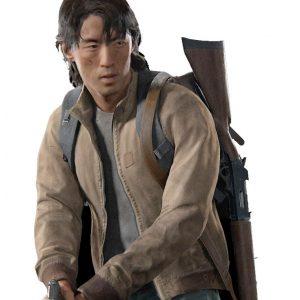 Jesse The Last Of Us Part II Leather Bomber Jacket