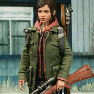 The Last of Us Part II Ellie Military Green Jacket