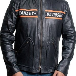 WWE Bill Goldberg Harley Davidson Biker Leather Jacket