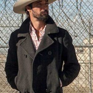 Ryan Bingham Yellowstone Walker Peacoat