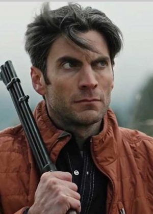 Quilted Parachute Jacket worn by Wes Bentley in TV Series Yellowstone