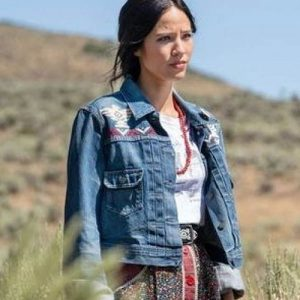 Yellowstone-S03-Monica-Dutton-Denim-Blue-Jacket