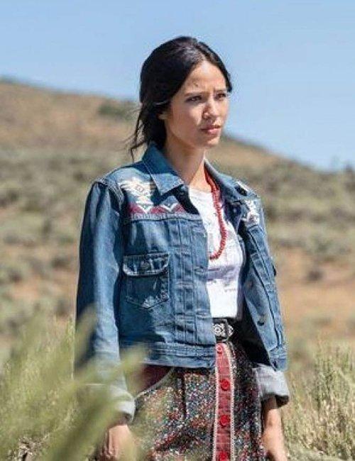 Yellowstone-S03-Monica-Dutton-Denim-Blue-Jacket