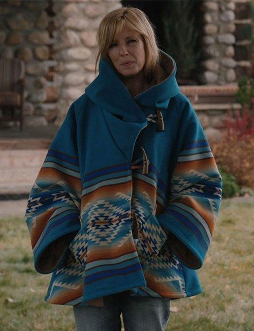 Yellowstone-Season-3-Beth-Dutton-Blue-Coat