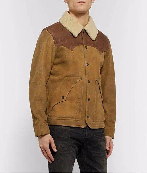 Yellowstone shearling jacket season-3
