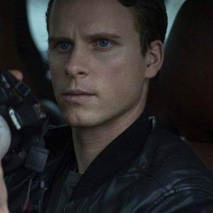 Adam-Pålsson-Black-Leather-Kurt-Wallander-Bomber-Jacket