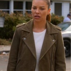 Lucifer S04 Chloe Decker Suede Jacket
