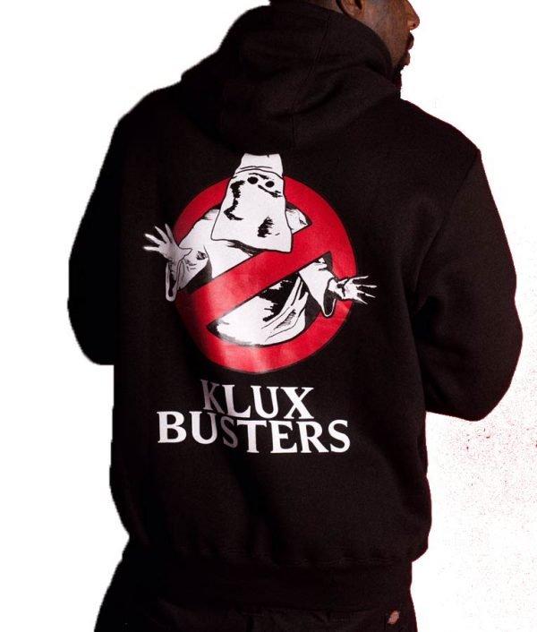 Klux Busters Black Pullover Hoodie