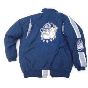 Georgetown Starter Blue Bomber Jacket