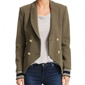 Anaya Bowin Stargirl Double Breasted Blazer