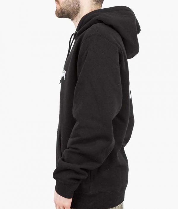 Stüssy Black Hoodie